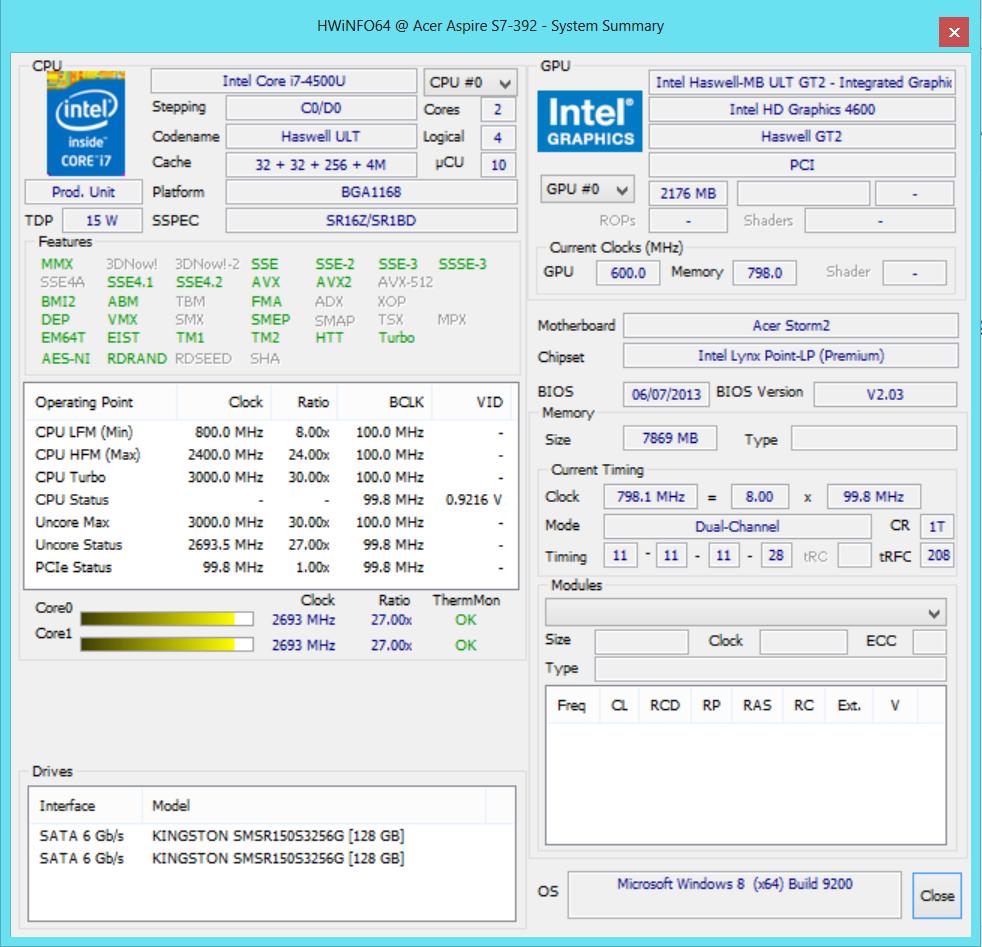 Обзор ультрабука Acer Aspire S7-392 - Notebookcheck-ru com