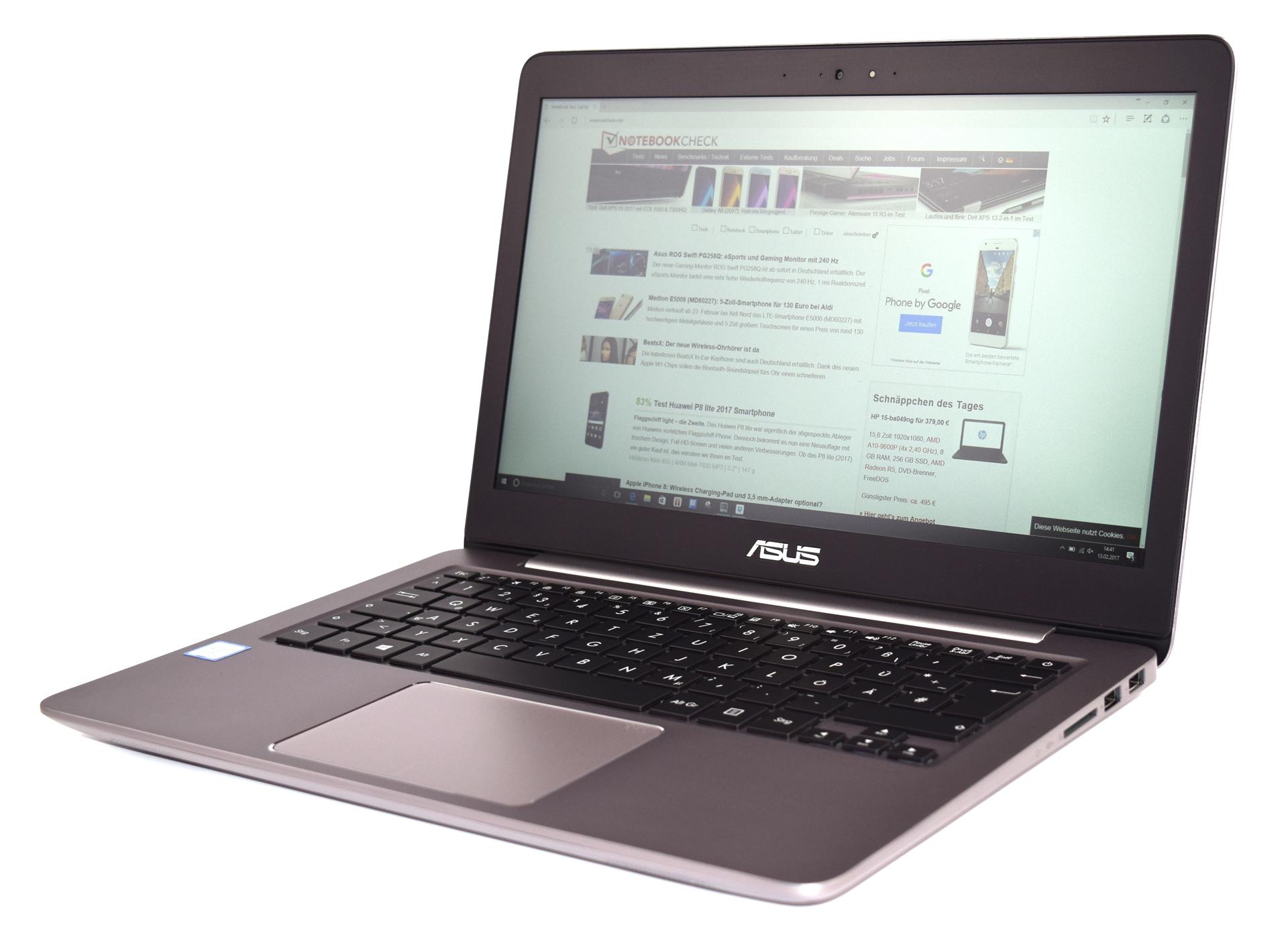 Обзор <b>ноутбука Asus ZenBook</b> UX310UA - Notebookcheck-ru.com