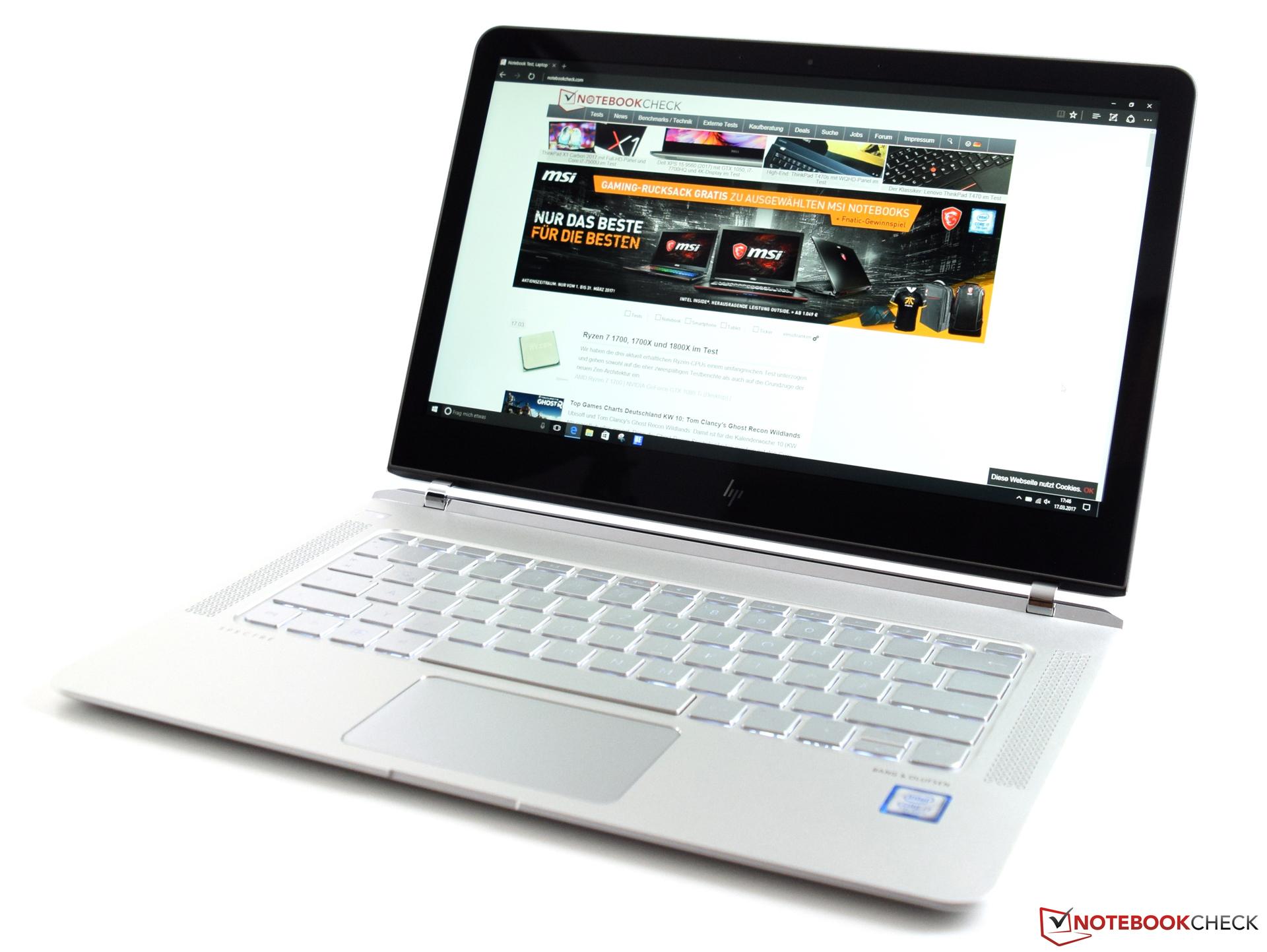 Краткий обзор ноутбука HP Spectre 13 (Core i7, Full HD