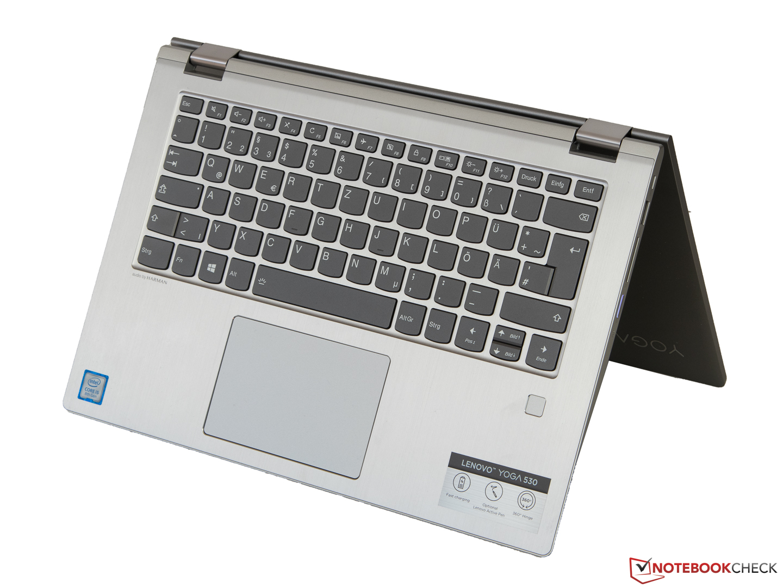 Ноутбук Lenovo Yoga 530-14IKB (i5-8250U, 8 GB, 256 GB SSD)  Краткий