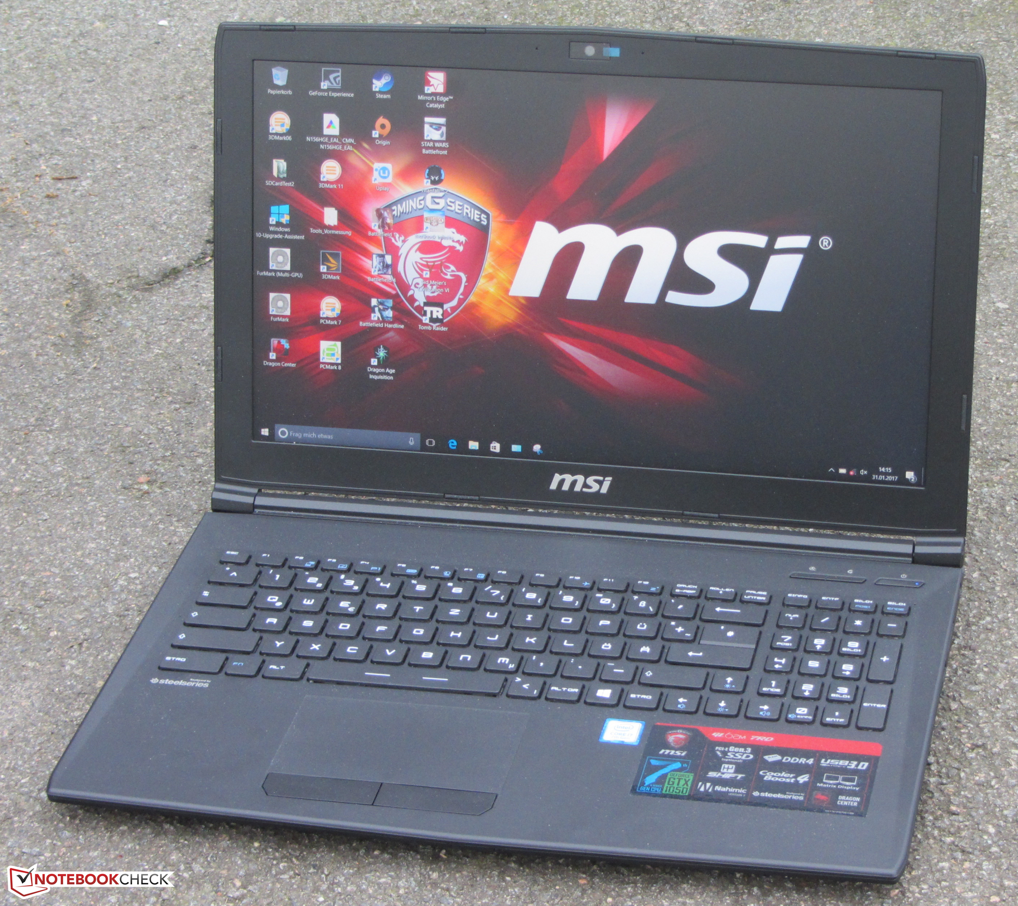 MSI GT60 0ND Notebook S-Bar 2.0 XP