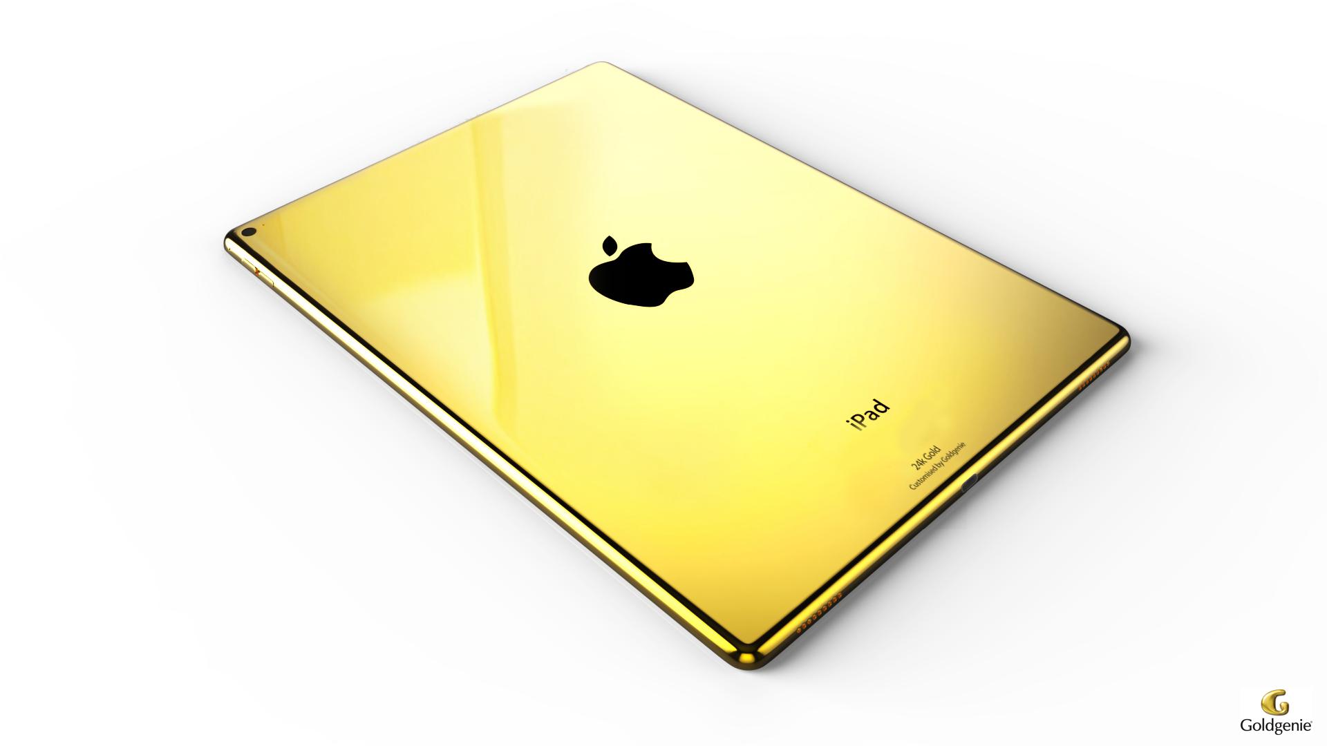 Планшет APPLE iPad Pro 12.9 128Gb Wi-Fi Gold ML0R2RU/A