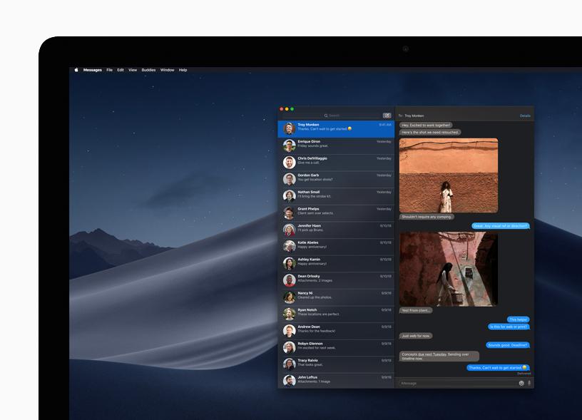 Вышла macOS Mojave: ночной режим, новые приложения