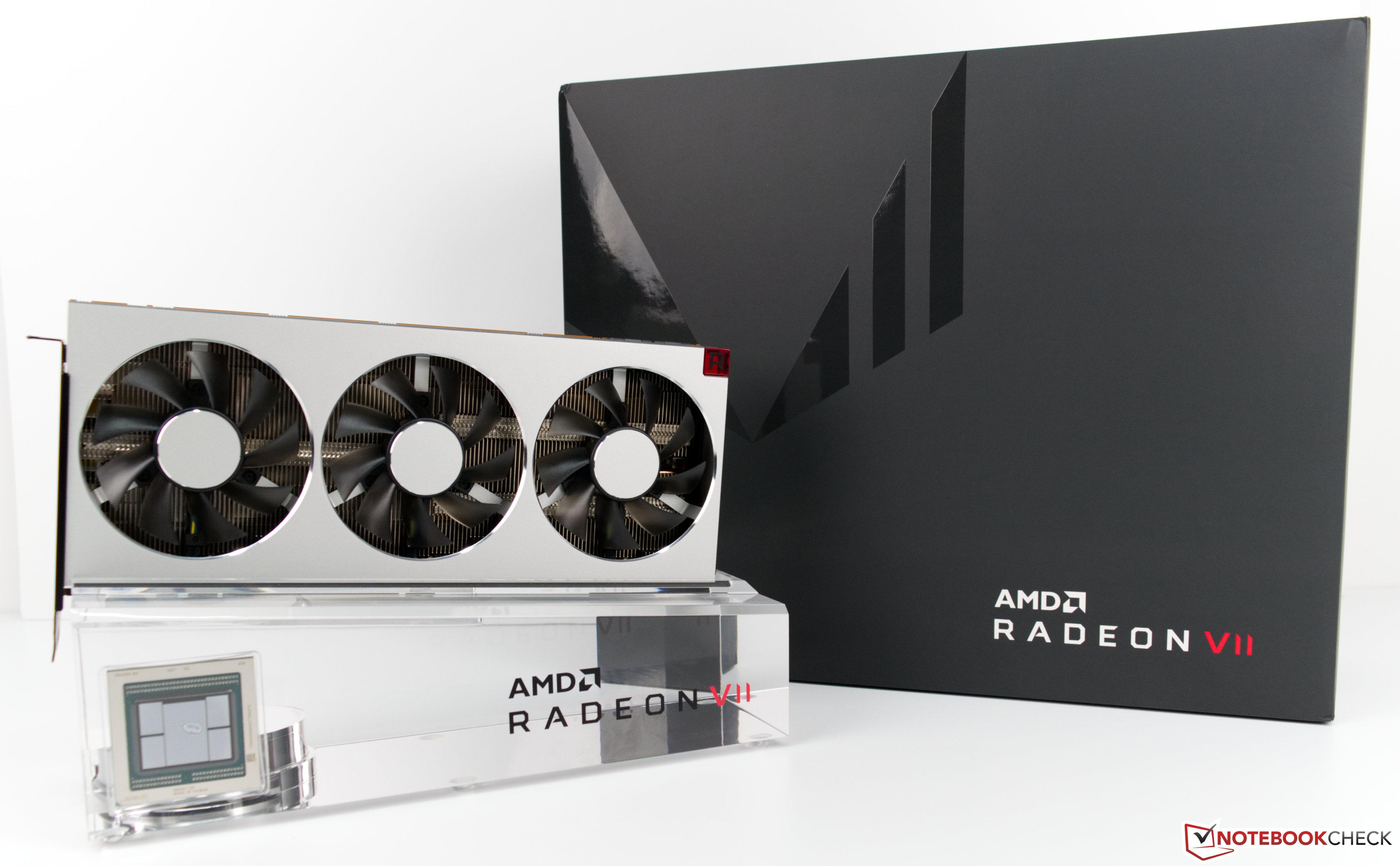 Видеокарта AMD Radeon VII  Обзор от Notebookcheck - Notebookcheck-ru com
