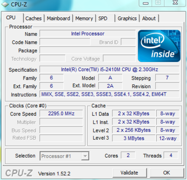 Драйвера для процессора intel core i3 скачать