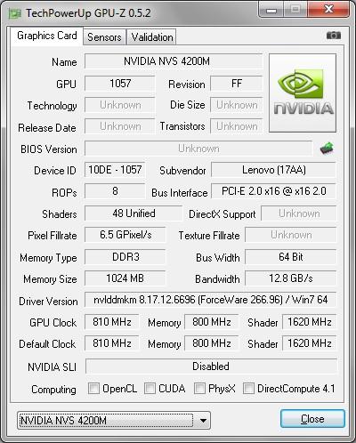 NVIDIA NVS 4200M DESCARGAR DRIVER