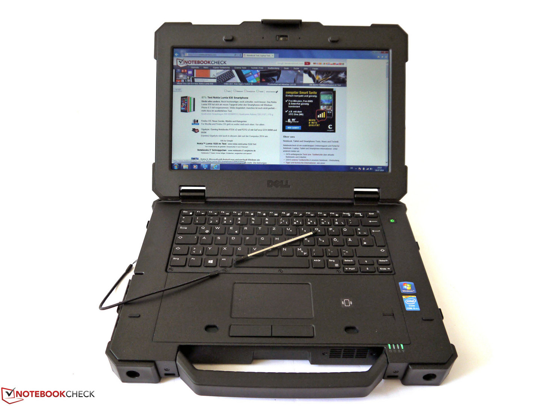 Obzor Zashishyonnogo Noutbuka Dell Latitude 14 7414 Rugged Extreme Notebookcheck Ru Com