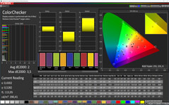 CalMAN: Colour Accuracy – Усиленный, DCI-P3