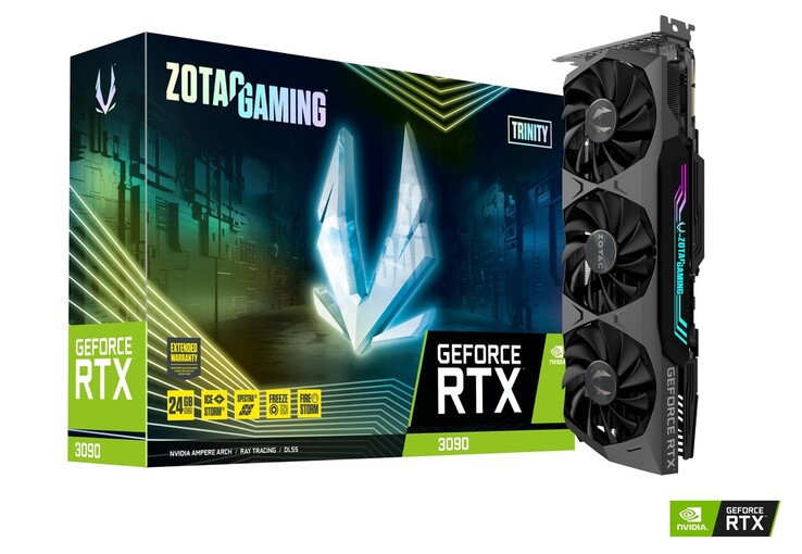 Zotac Gaming GeForce RTX 3090 Trinity (Изображение: Zotac)