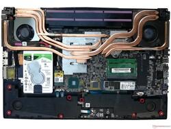 Система охлаждения MSI GP75 Leopard 9SD