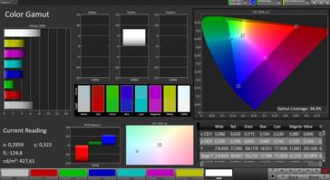 CalMAN: Color Space – sRGB