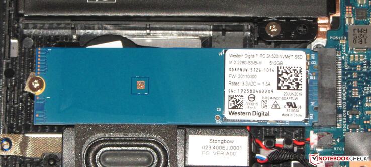 WDC PC SN520 SSD