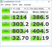CDM 5.5 (Kingston SSD)