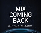 The first Mi Mix device in years will debut on March 29. (Image source: Xiaomi - edited)