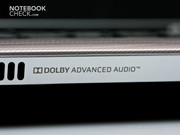 Dolby Advanced Audio is also onboard.