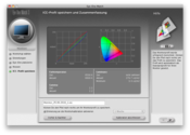 Результаты измерений, полученные калибратором Display2