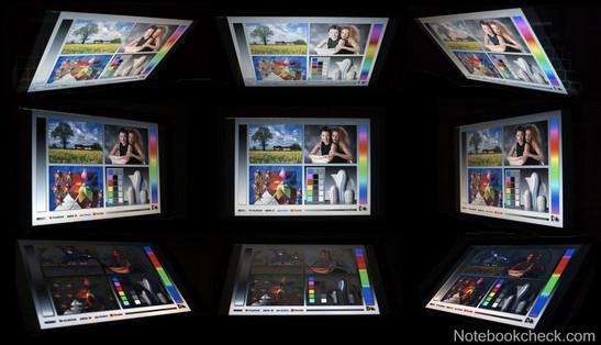 Углы обзора Apple MacBook Pro 13 2010-04 2.66 ГГz