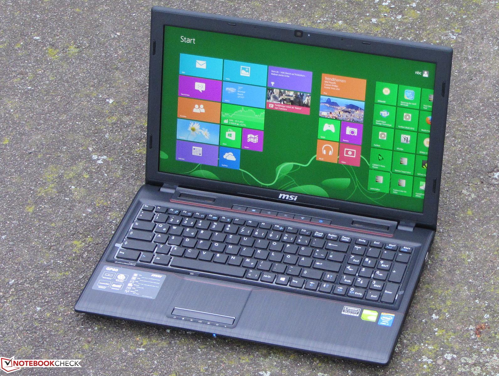 MSI GP60 Keyboard 64Bit