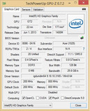 GPU-Z Intel HD Graphics 4400