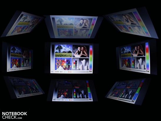 Углы обзора HP EliteBook 8440p-WJ681AW