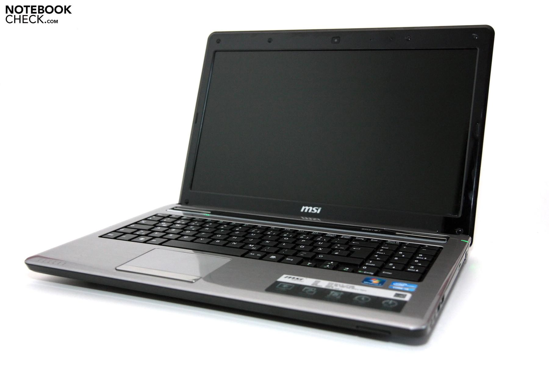 Скачать драйвера на ноутбук msi cx640dx