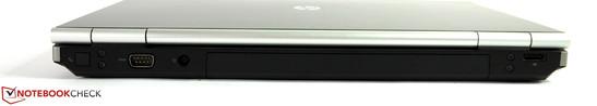 Сзади: Модем, последовательный порт, DisplayPort