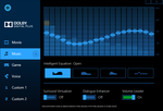 Dolby Digital Plus software and equalizer