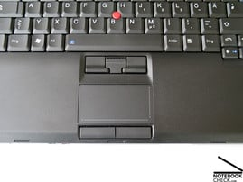 Lenovo Thinkpad T500 touchpad