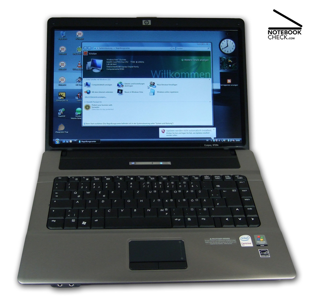 soundmax hp compaq 6720s
