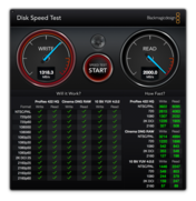 BlackMagicDesign Disk Speed Test
