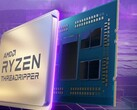 Монтаж процессора Ryzen Threadripper на загадочном фоне (Изображение: Скриншот сайта AMD)