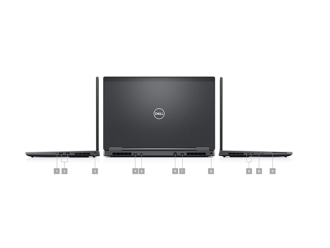 Dell Precision 7730, i9-8950HK, Nvidia Quadro P5200